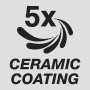 Пятислойное керамическое покрытие