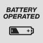 Работает от батарей