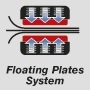 Floating plastes system