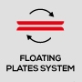 Система плавающих пластин