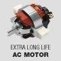 Долговечный электромотор переменного тока EXTRA LONG-LIFE AC