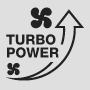Кнопка Turbo для быстрой укладки