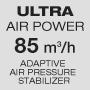 Ультрамощный воздушный поток / Стабилизатор давления воздуха