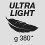 Ultra lightweight 380 g