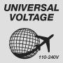 Универсальное напряжение 110-240 В