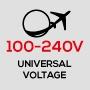 Универсальное напряжение 100-240 В