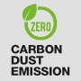 Zero Carbon Dust Emission